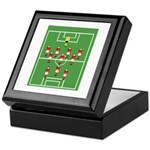 Soccer Team, Football Players Keepsake Box