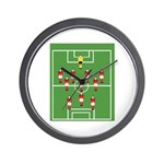 Soccer Team, Football Players Wall Clock