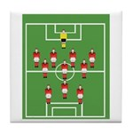 Soccer Team, Football Players Tile Coaster
