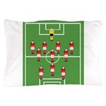 Soccer Team, Football Players Pillow Case