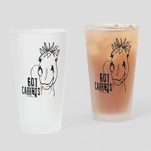 GotCarrots1 Drinking Glass