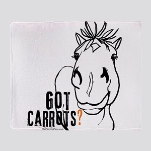 GotCarrots1 Throw Blanket