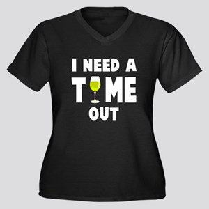 Time out wine Plus Size T-Shirt