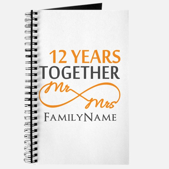 12th anniversary Journal