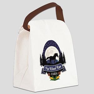 FoxWood Run Farm Canvas Lunch Bag