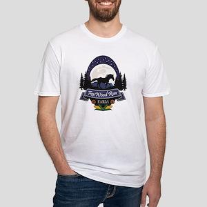 FoxWood Run Farm Fitted T-Shirt