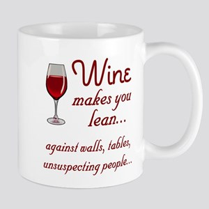 Wine lean Mugs