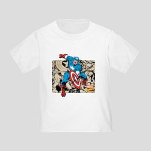 Captain America Retro Toddler T-Shirt