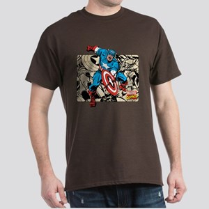 Captain America Retro Dark T-Shirt