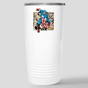Captain America Retro Stainless Steel Travel Mug