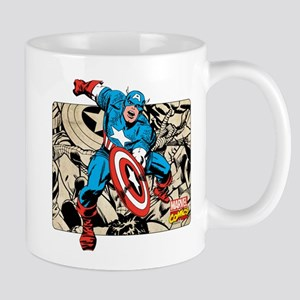 Captain America Retro Mug