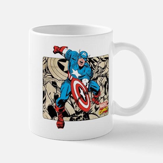 Captain America Retro Mug