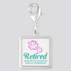 Funny retirement Charms