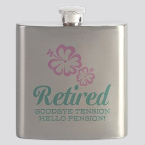 Funny retirement Flask