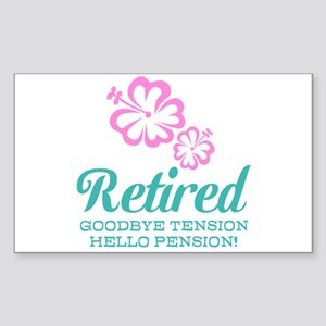 Funny retirement Sticker