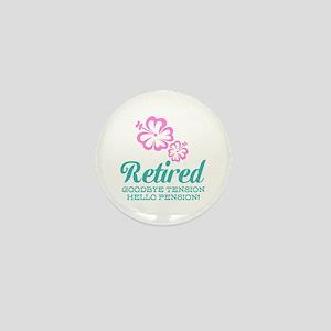 Funny retirement Mini Button