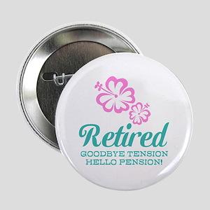 "Funny retirement 2.25"" Button"