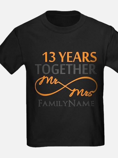 13th anniversary wedding T