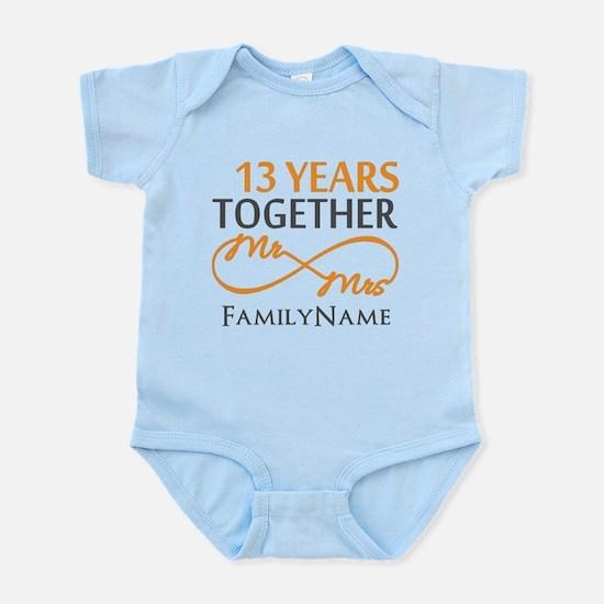13th anniversary wedding Infant Bodysuit
