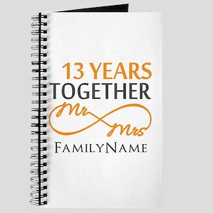 13th anniversary wedding Journal