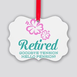 Funny retirement Ornament