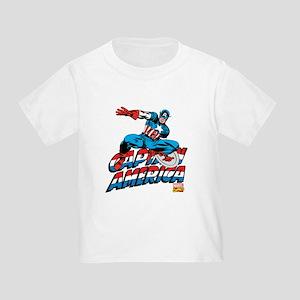Captain America Logo Toddler T-Shirt