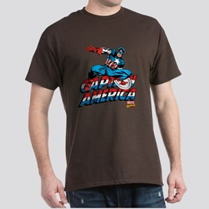 Captain America Logo Dark T-Shirt