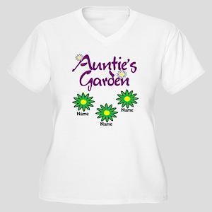 Aunties Garden 3 Plus Size T-Shirt