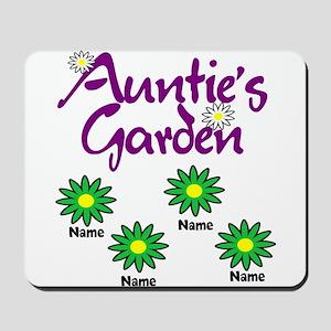 Aunties Garden 4 Mousepad