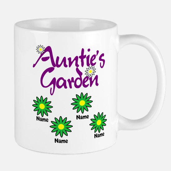 Aunties Garden 4 Mugs
