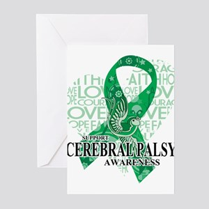 Cerebral Palsy Hope Love Greeting Cards (Pk of 20)