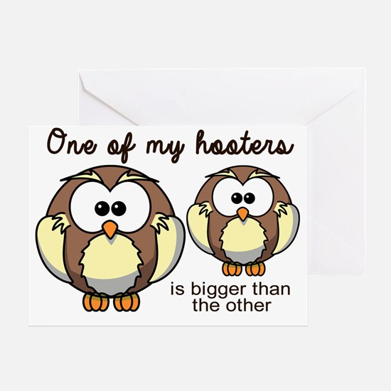 One of my Hooters Greeting Card