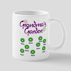 Grandmas Garden 9 Mugs