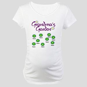 Grandmas Garden 9 Maternity T-Shirt