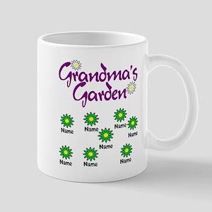 Grandmas Garden 8 Mugs