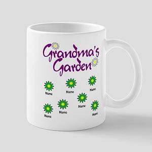 Grandmas Garden 7 Mugs