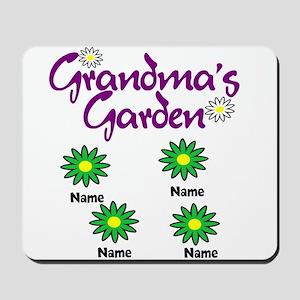 Grandmas Garden 4 Mousepad