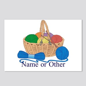 Personalized Knitting Postcards (Package of 8)