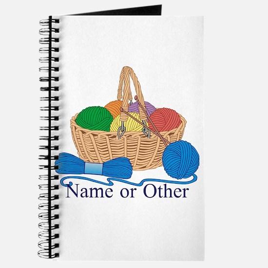 Personalized Knitting Journal