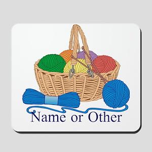 Personalized Knitting Mousepad