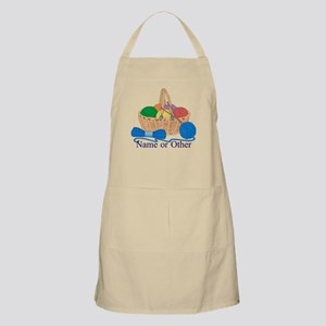 Personalized Knitting Apron