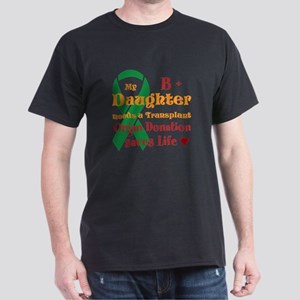Personalize Name And Blood Type Dark T-Shirt