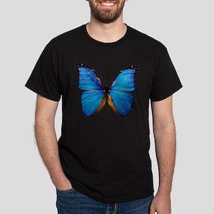 Animals Blue Butterfly T-Shirt