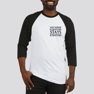 STAYS IN THE KITCHEN Baseball Jersey