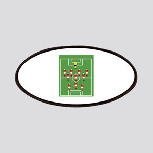 Soccer Team, Football Players Patches