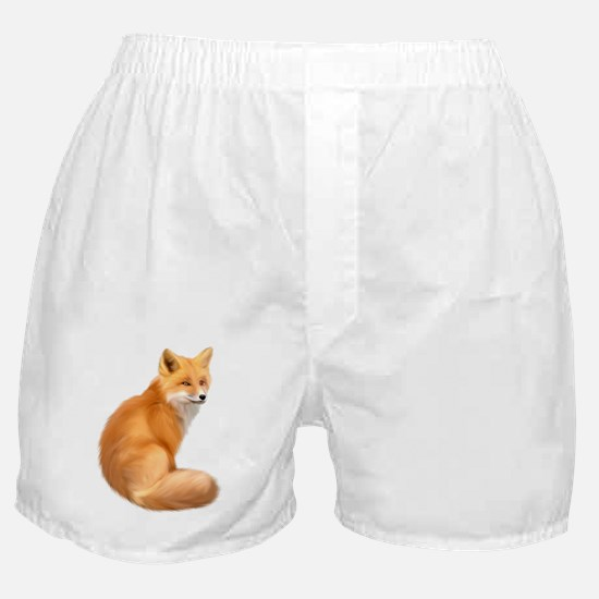 animals fox Boxer Shorts