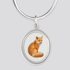 animals fox Necklaces