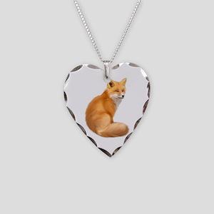animals fox Necklace