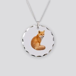 animals fox Necklace