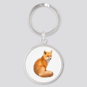 animals fox Keychains